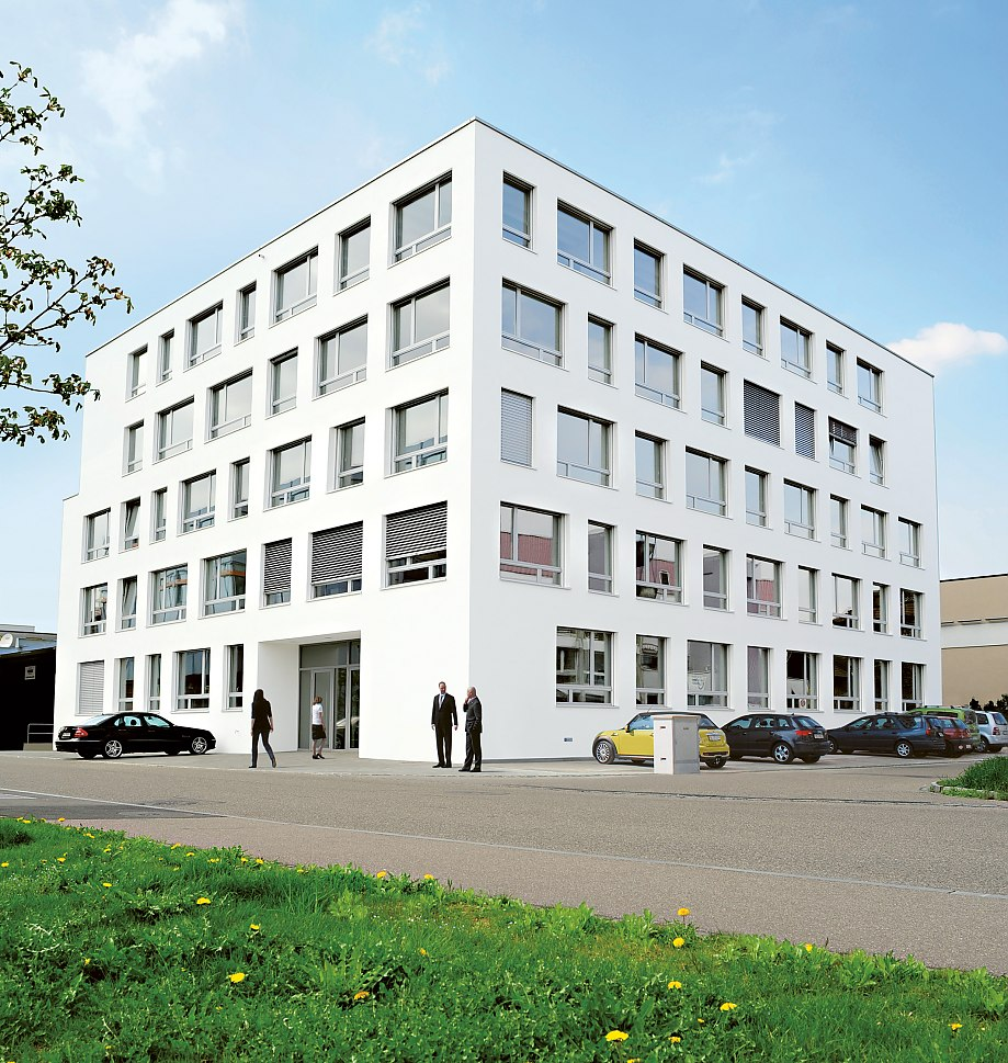 Firmensitz Scambia Patent Services im Business Parc Reinach